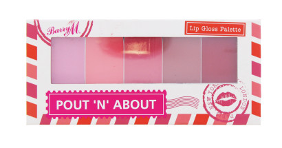 BARRY M POUT N ABOUT L/GLOSS PALETTE