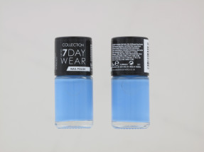 COLLECTION 7 DAY N/POLISH BABY BLUE