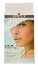 REVITALE FACIAL WAX STRIPS 12S CDU