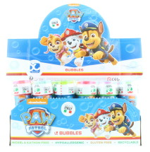 PAW PATROL 60ML BUBBLES CDU 36