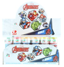 AVENGERS 60ML BUBBLES CDU 36