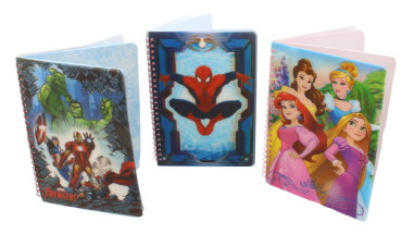 DISNEY NOTEBOOK A5 HOLOGRAPH ASSORTED
