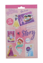 DISNEY PRINCESS 700+ STICKER PAD CLIP