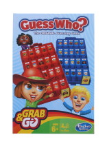 GUESS WHO? GRAB AND GO TRAVEL SIZED GAME
