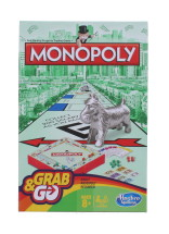 MONOPOLY GRAB AND GO TRAVEL SIZED GAME