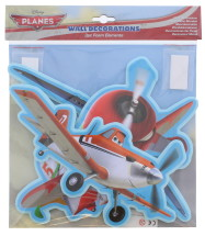 PLANES FOAM WALL DECOR 3PC