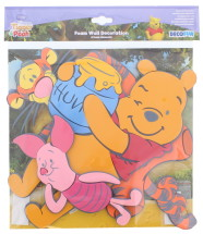 WINNIE THE POOH FOAM WALL DECOR 3PC