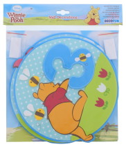 WINNIE THE POOH FREE FOAM WALL DECOR 3PC