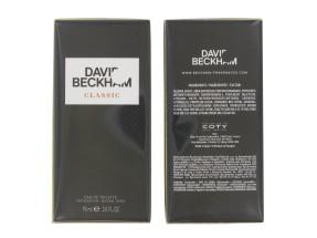 DAVID BECKHAM CLASSIC 90ML EDT SPRAY