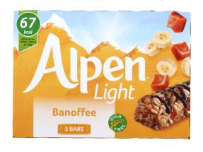 ALPEN LIGHT 5X19G BANOFFEE BAR