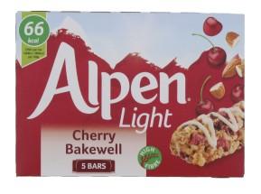 ALPEN LIGHT 5X19G BAKEWELL BAR
