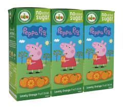 APPY KIDS 3X200ML PEP PIG ORAN
