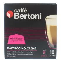 CAFE BERTONI 10 CAPS CAPPUC CRM