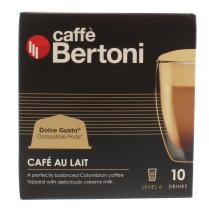 CAFE BERTONI 10 CAPS CAFE LAIT