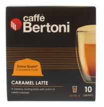 CAFE BERTONI 10 CAPS CARM LATTE