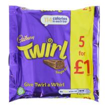 CADBURY TWIRL 5 PK (5X21.5G) £1