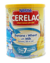 CERELAC 400G CEREAL WHEAT&BANA
