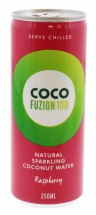 COCO FUZION 250ML RASP C.WATER