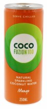 COCO FUZION 250ML MANG C.WATER