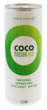COCO FUZION 250ML NAT C.WATER