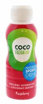 COCO FUZION 330ML RASP C.WATER