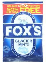 FOX'S 130G GLACIER MINTS 50% EF