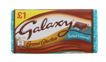 GALAXY S/CARAMEL BLOCK 135G £1