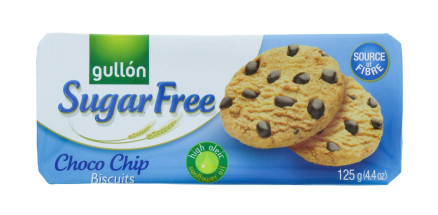 GULLON 125G SF CHOC CHIP COOKIE