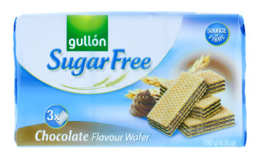 GULLON 210G SF WAFER CHOC
