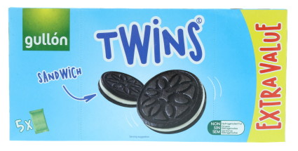 GULLON 330G TWINS BISCUITS 5PK