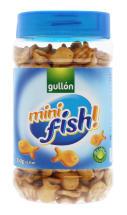 GULLON 350G MINI FISH BISCUITS