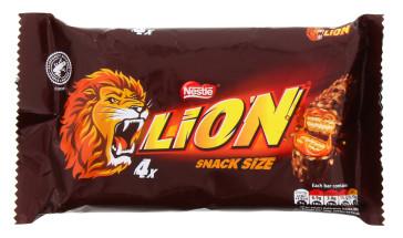 LION BAR 4X30G MILK
