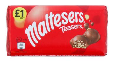 MALTESERS TEASER BLOCK 100G £1