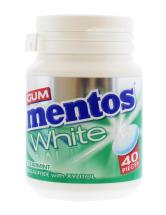 MENTOS 60G GUM WHITE S.MINT 40S