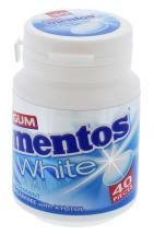 MENTOS 60G GUM WHITE P.MINT 40S