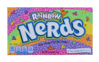 RAINBOW NERDS LABELLED 141.7G