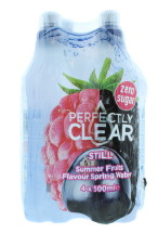P.CLEAR 4X500ML WATER S/FRUIT