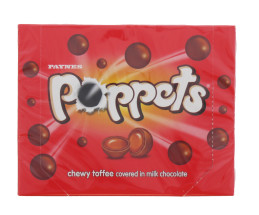 POPPETS 154G TOFFEE BOX