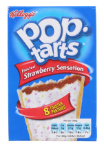 POP TARTS 8X50G STRAWBERRY