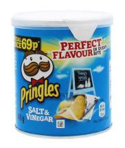 PRINGLES 40G SALT&VINEGAR PM69P