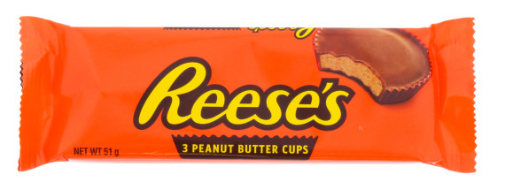 REESES 3X17G PEANUT BUTTER CUPS