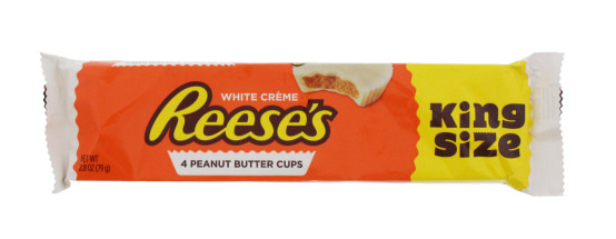 REESES PEANUT BUTTER WHITE 4PK KING