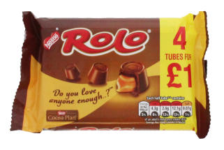 ROLO 4X41.6G PMP £1.00