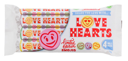 SWIZZELS 4X38G GIANT LOVE HEART