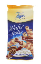 TAGO 160G ROLL WAFERS COCOA