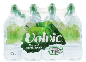 VOLVIC 12X1L STILL WATER SP CAP