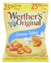 WERTHERS ORIG 137.5G TOFFEE 25%