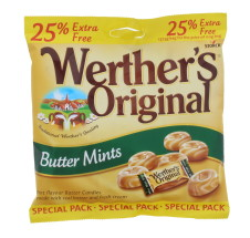 WERTHERS ORIG 137.5G MINT 25%EF
