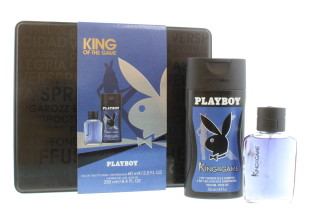 PLAYBOY KING OF THE GAME SET 3PC