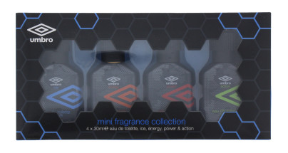 UMBRO MINI FRAGRANCE COLLECTION (4XEDT)